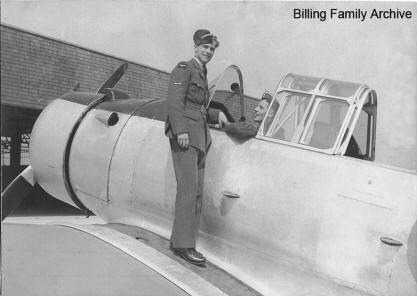 Jerry Billing RCAF 1941