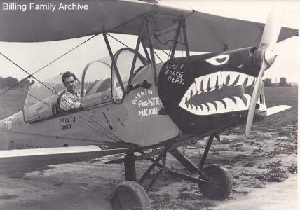 Jerry Billing Tiger Moth